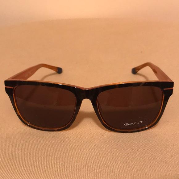 b1d2a5f86f SUN GANT men s sunglasses 56E Havana NWT